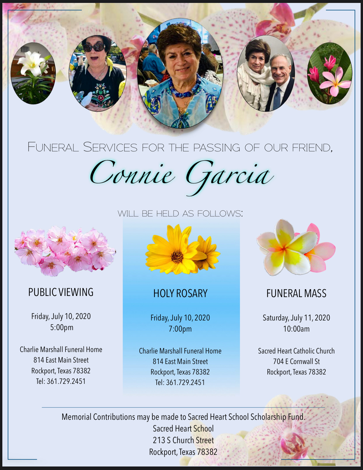 In Loving Memory of Connie Garcia