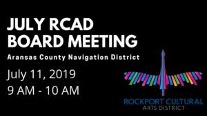 July RCAD Board Meeting