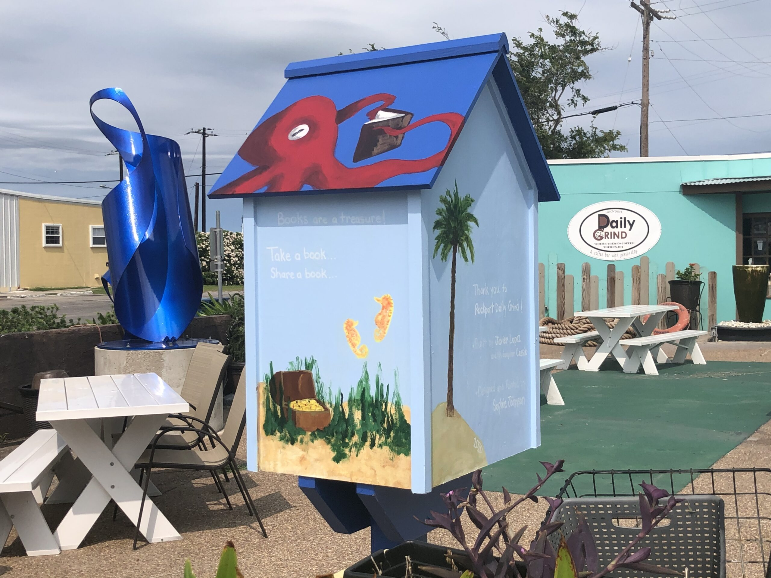 Rockport Daily Grind – Little Free Library